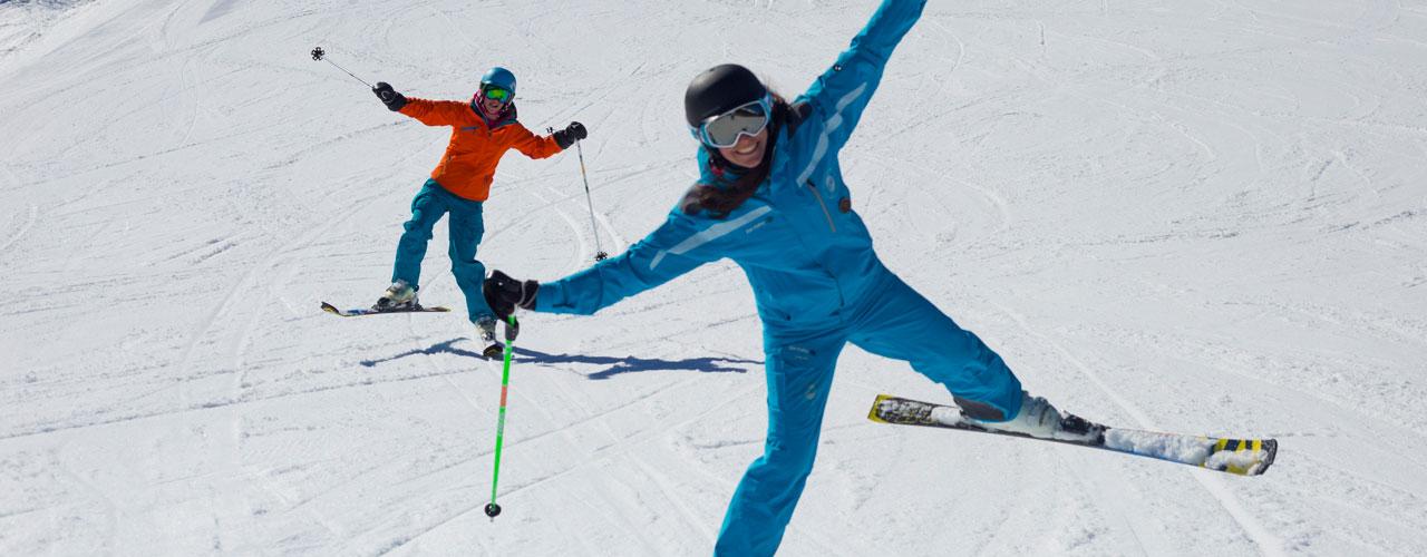 Exemple d'un cours de ski à offrir