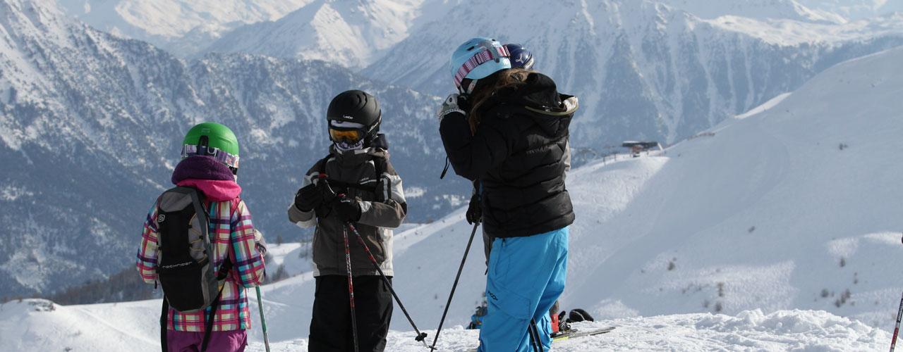 ski en famille à Serre Chevalier