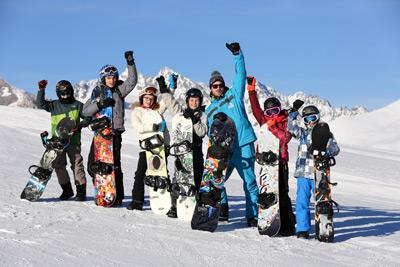 cours particulier de snowboard - serre chevalier vallée